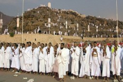 Iranian Hajj Pilgrims in Good Health