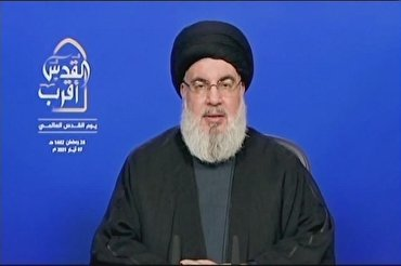 Zionist Regime's Life Near Its End: Nasrallah
